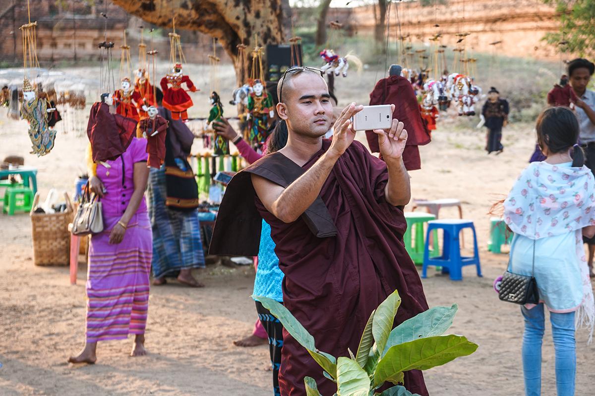 tips om bagan I myanmar