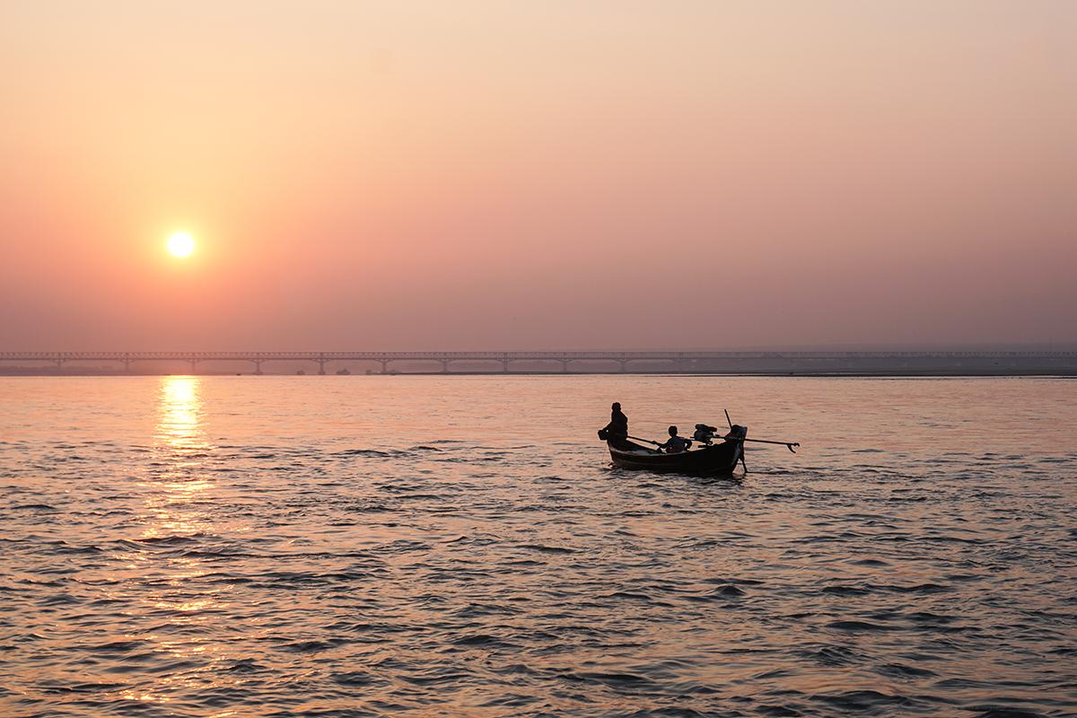 Irrawaddyfloden Myanmar