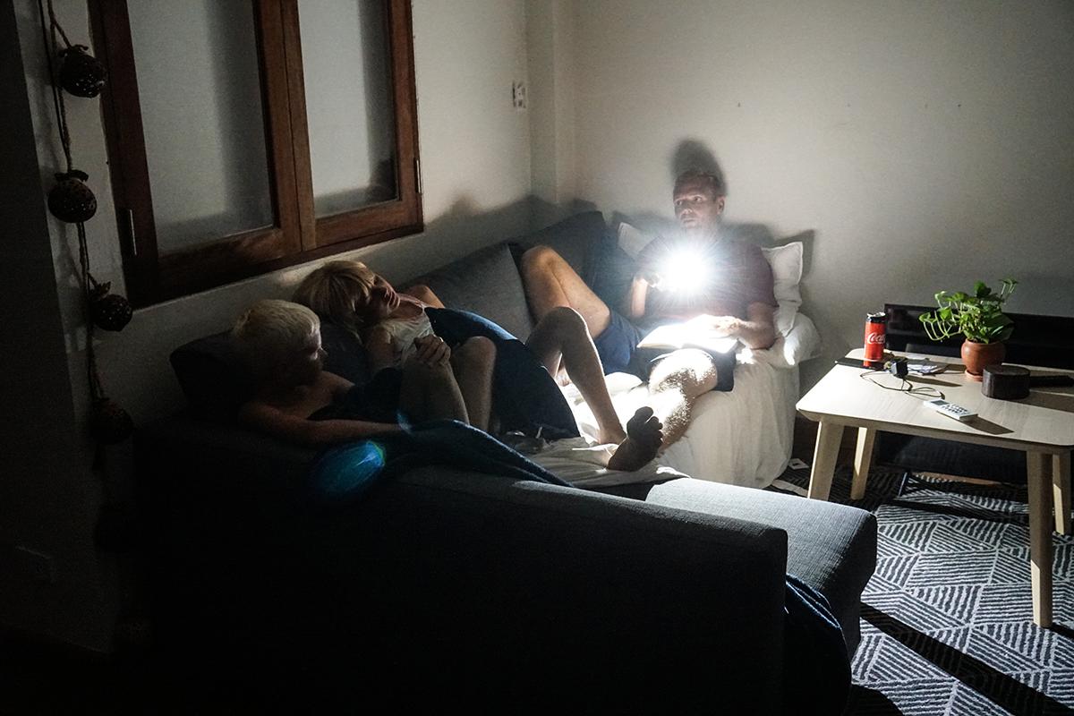 lägenhet slow down strömavbrott
