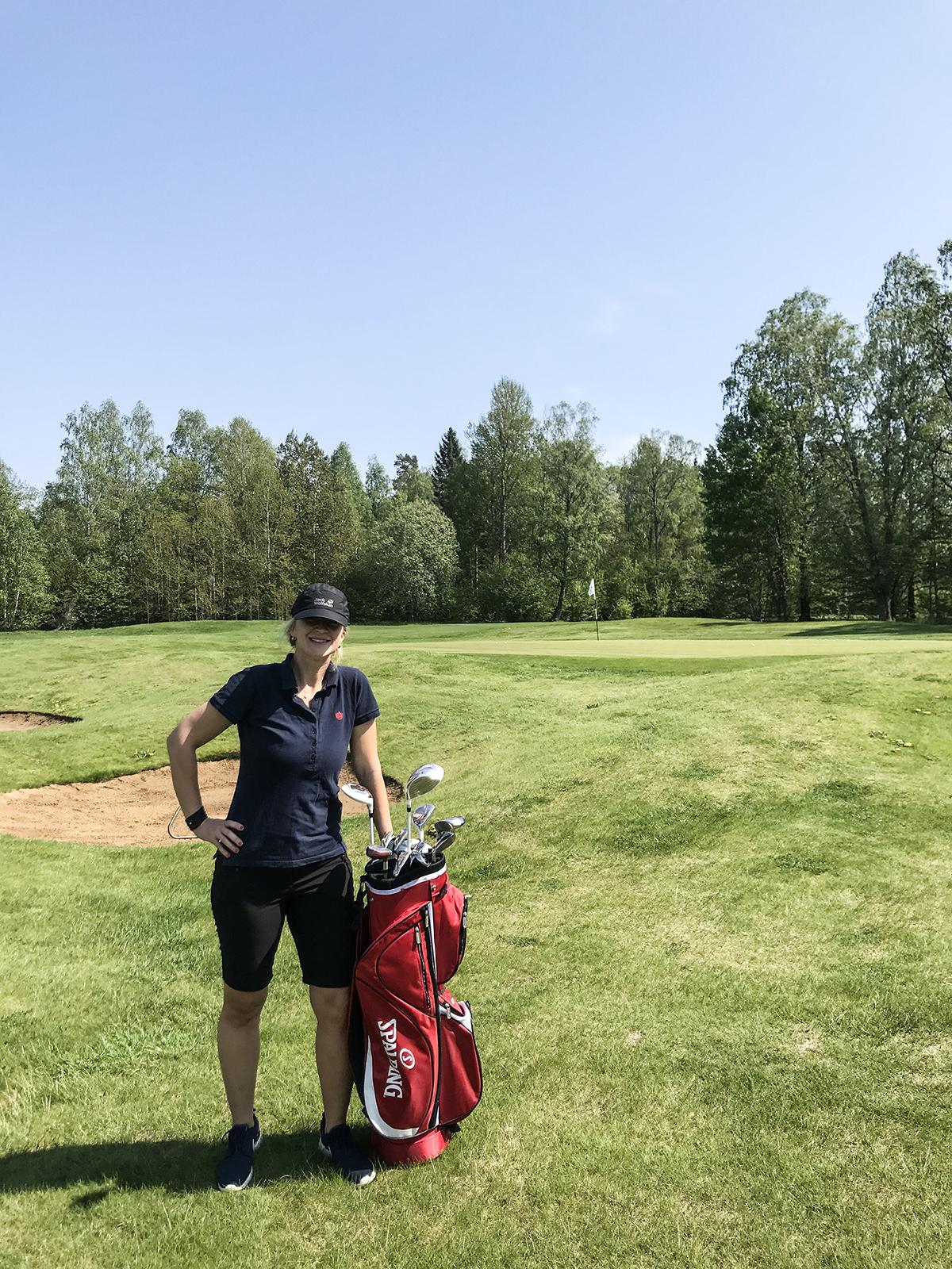golf körunda