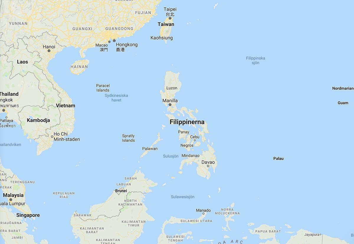 karta filippinerna