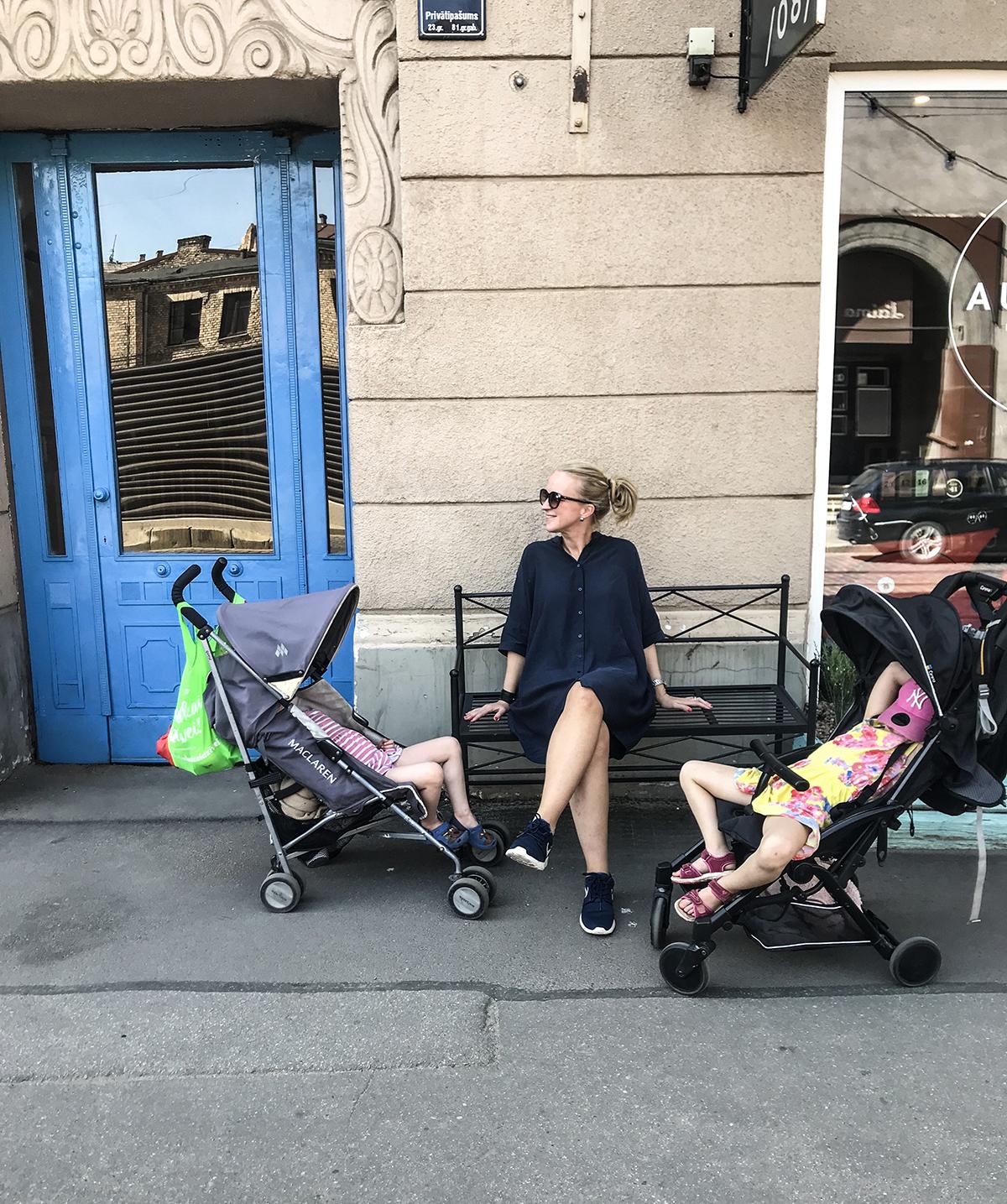 riga med barn