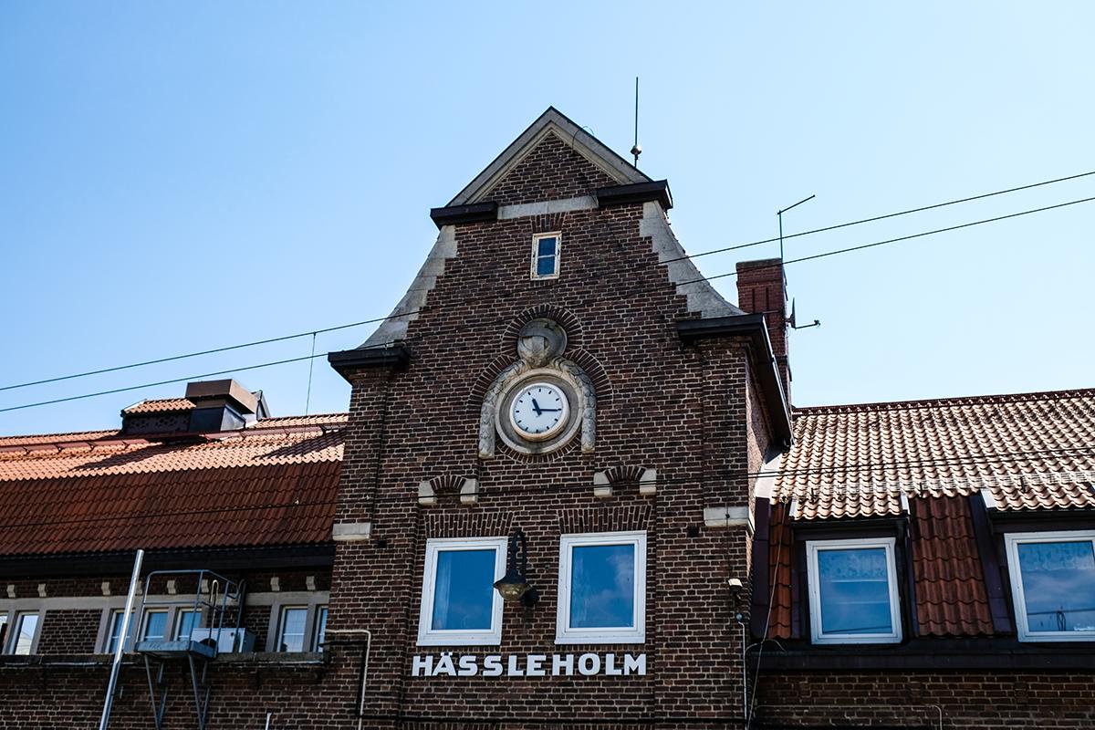 SJ hässleholms station