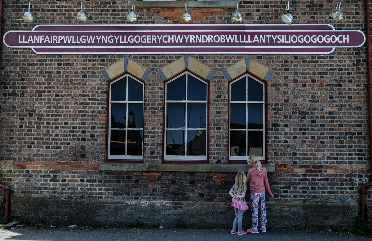 världens längsta ortsnamn Wales