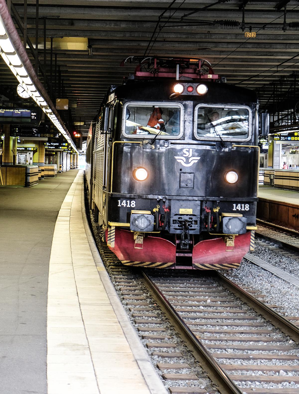 tåg SJ stockholm