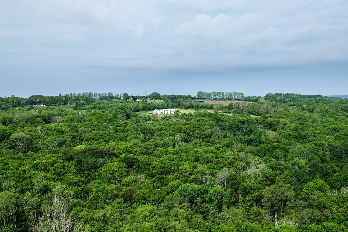 utsikt norra toppen stenshuvud