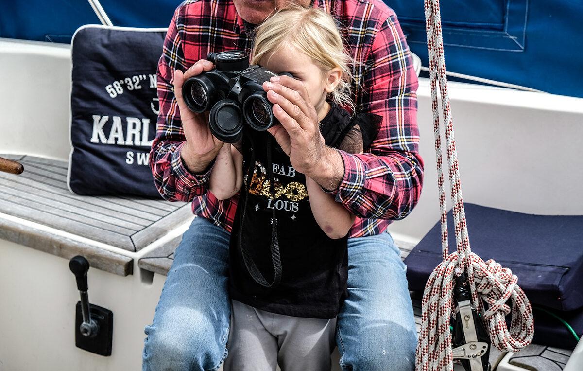 göta kanal båt barn