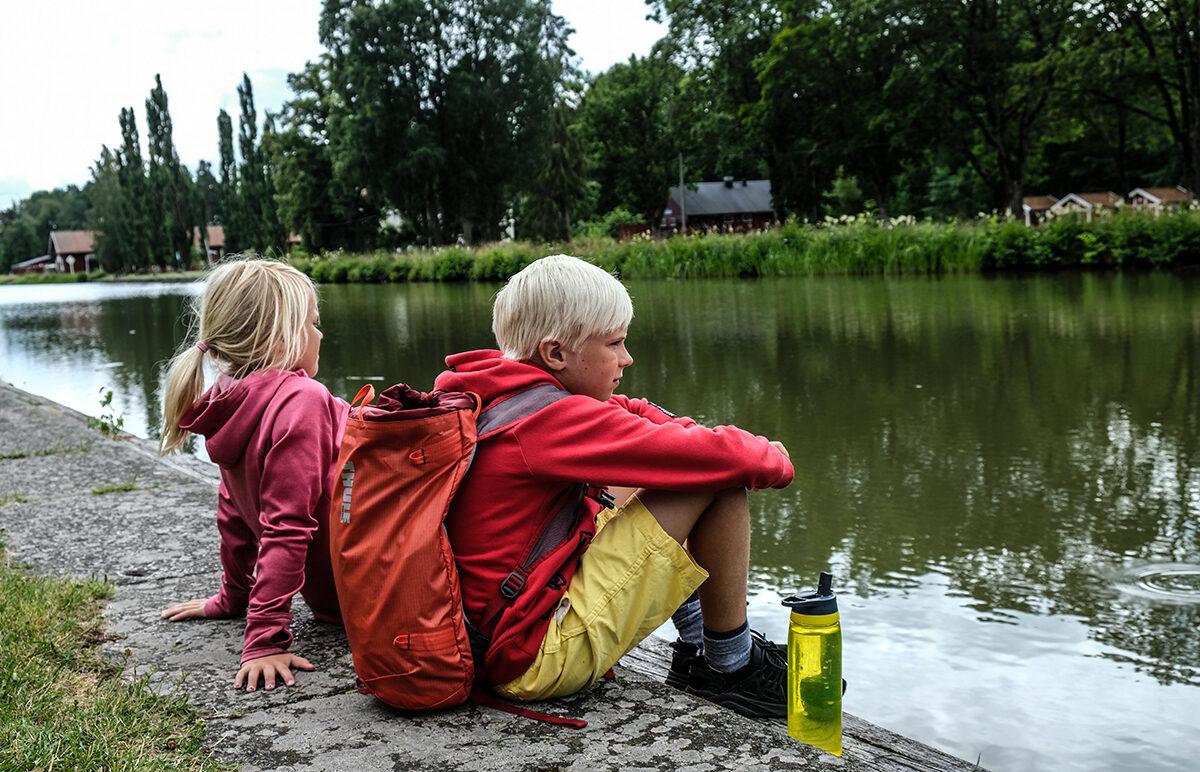 göta kanal med barn