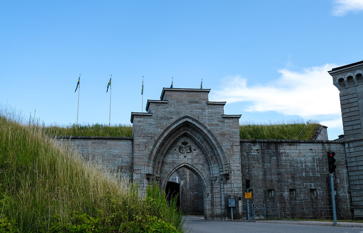 karlsborgs fästning utsidan