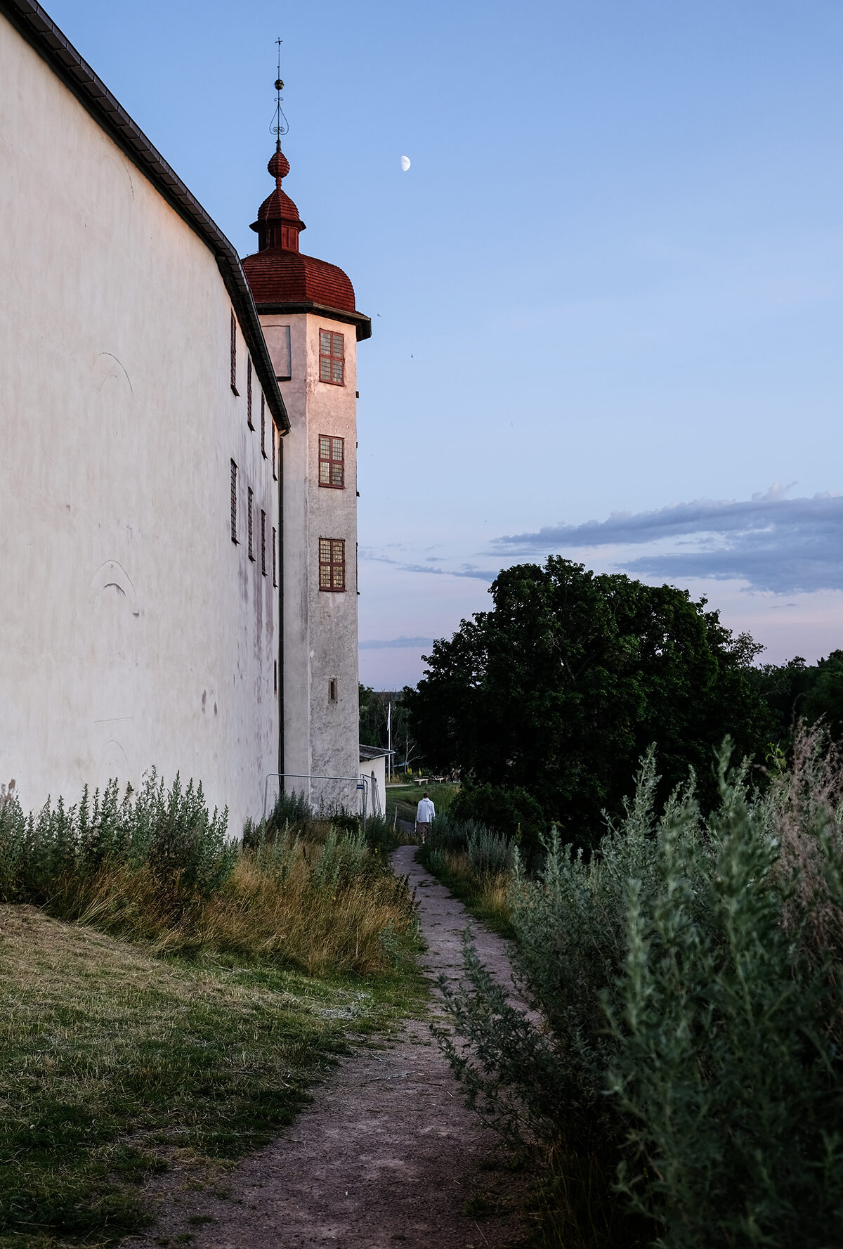 läckö slott baksida