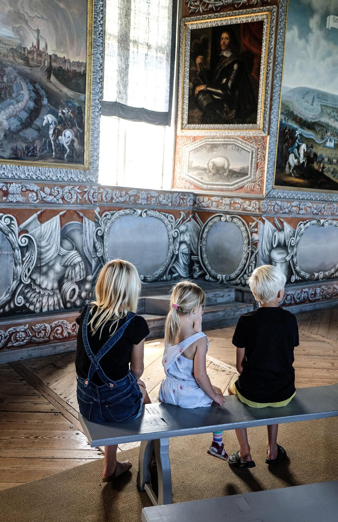 läckö slott barnvisning