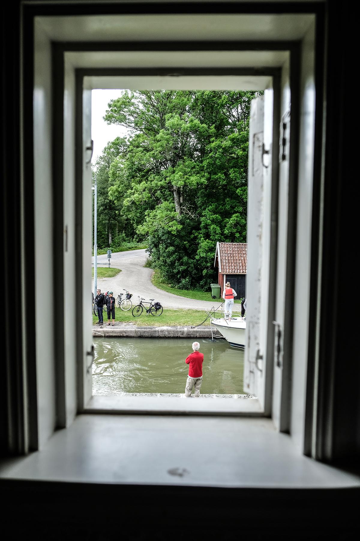 slusshuset göta kanal fönster