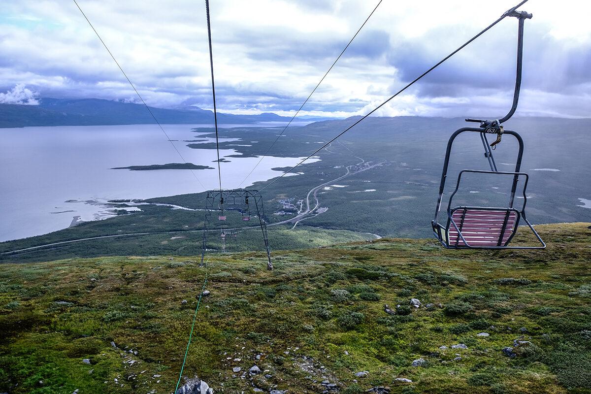 resa till Abisko lift Lapporten