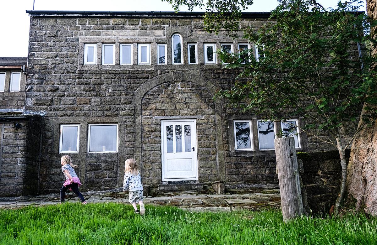england hus på engelska landsbygden