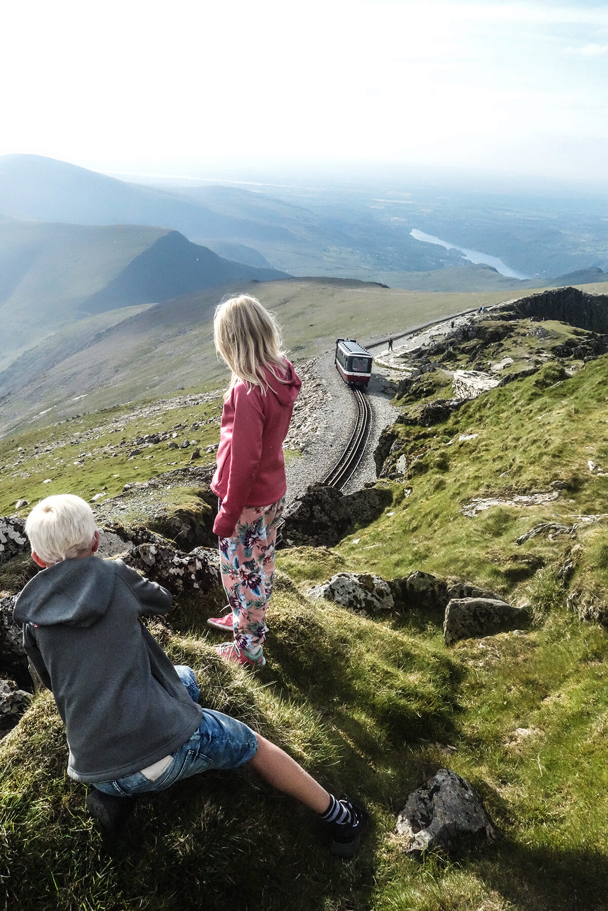 mount snowdon kids walk Wales
