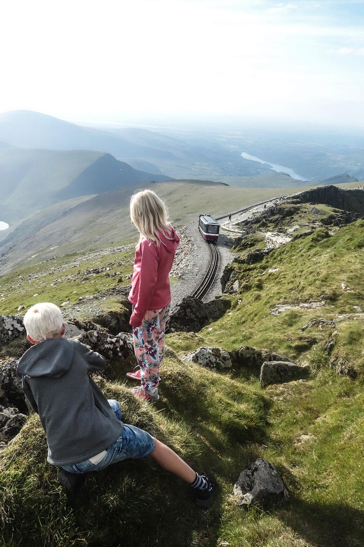 magnifik tågsträcka i Wales