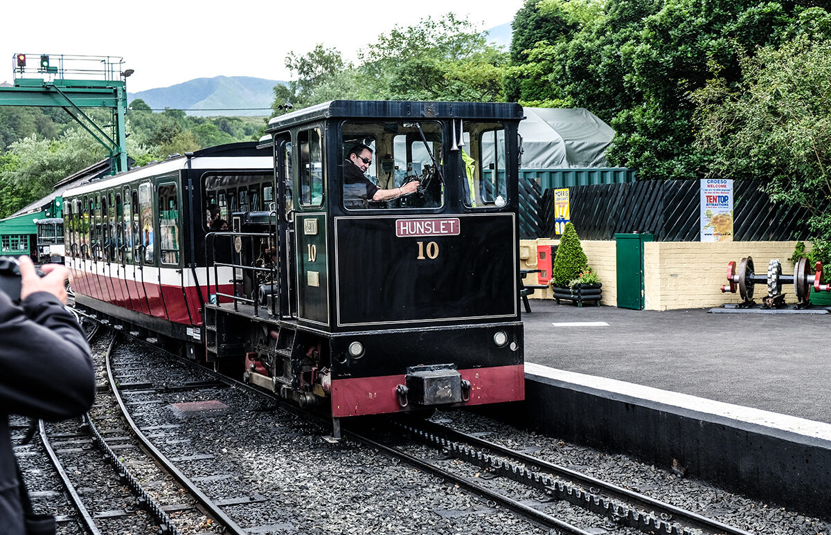 snowdonia mountain railway Wales