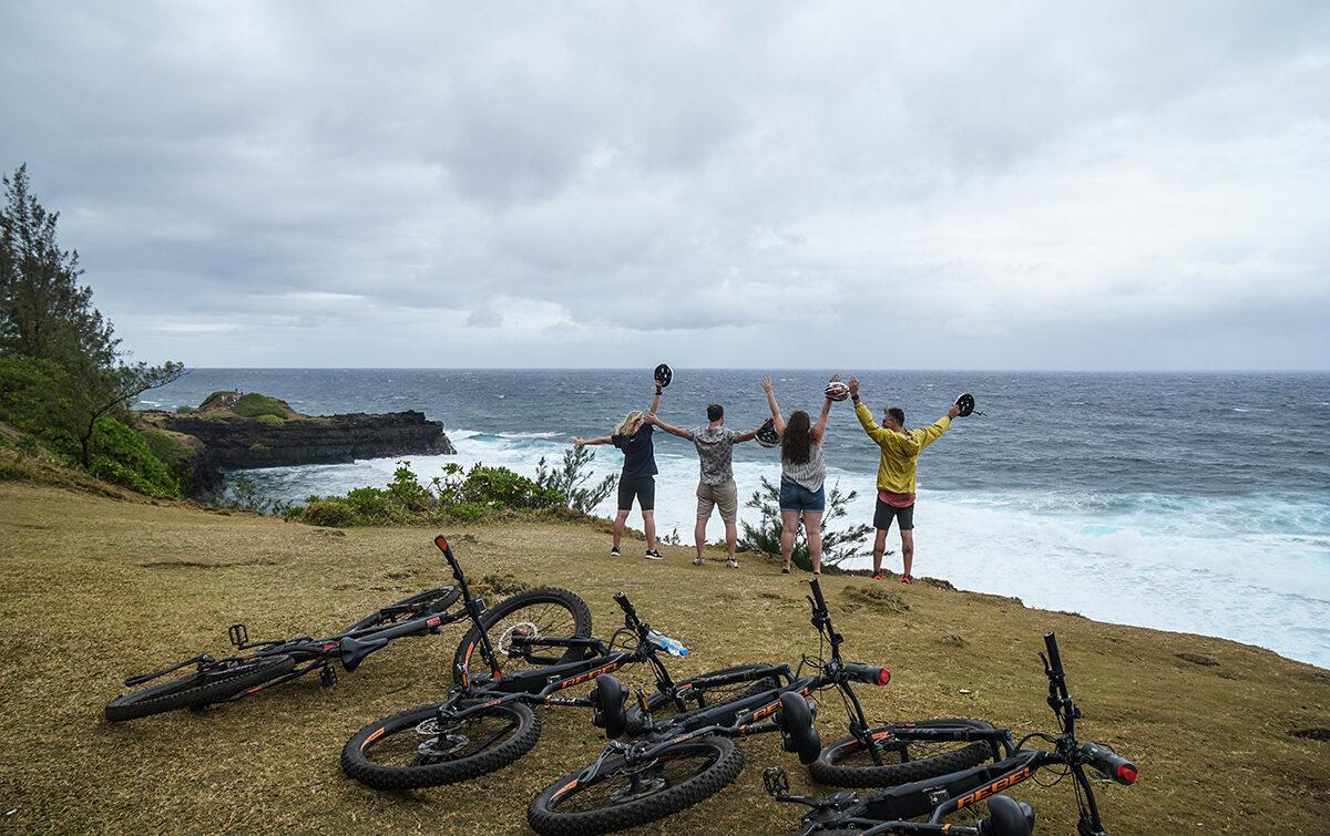 cykla på mauritius