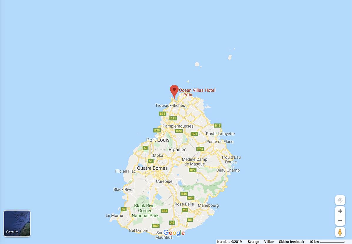 hotelltips mauritius
