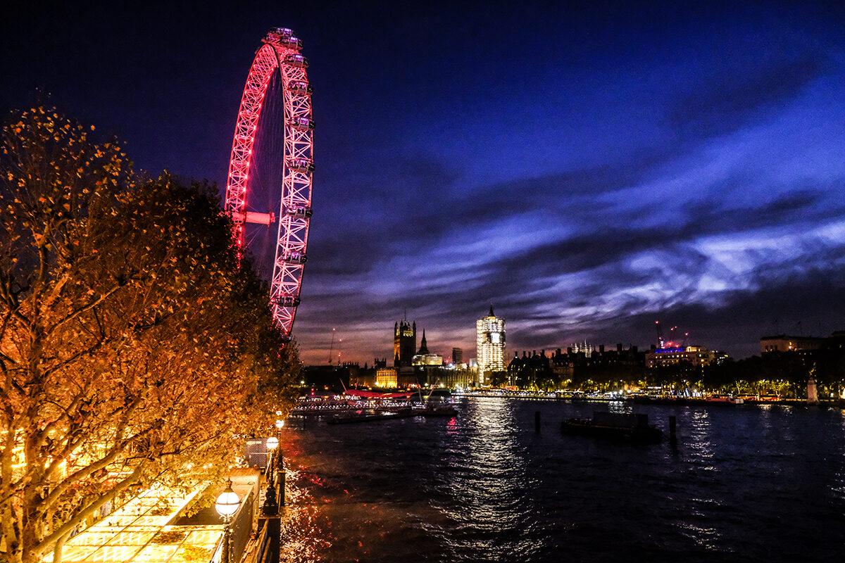julmarknad i london