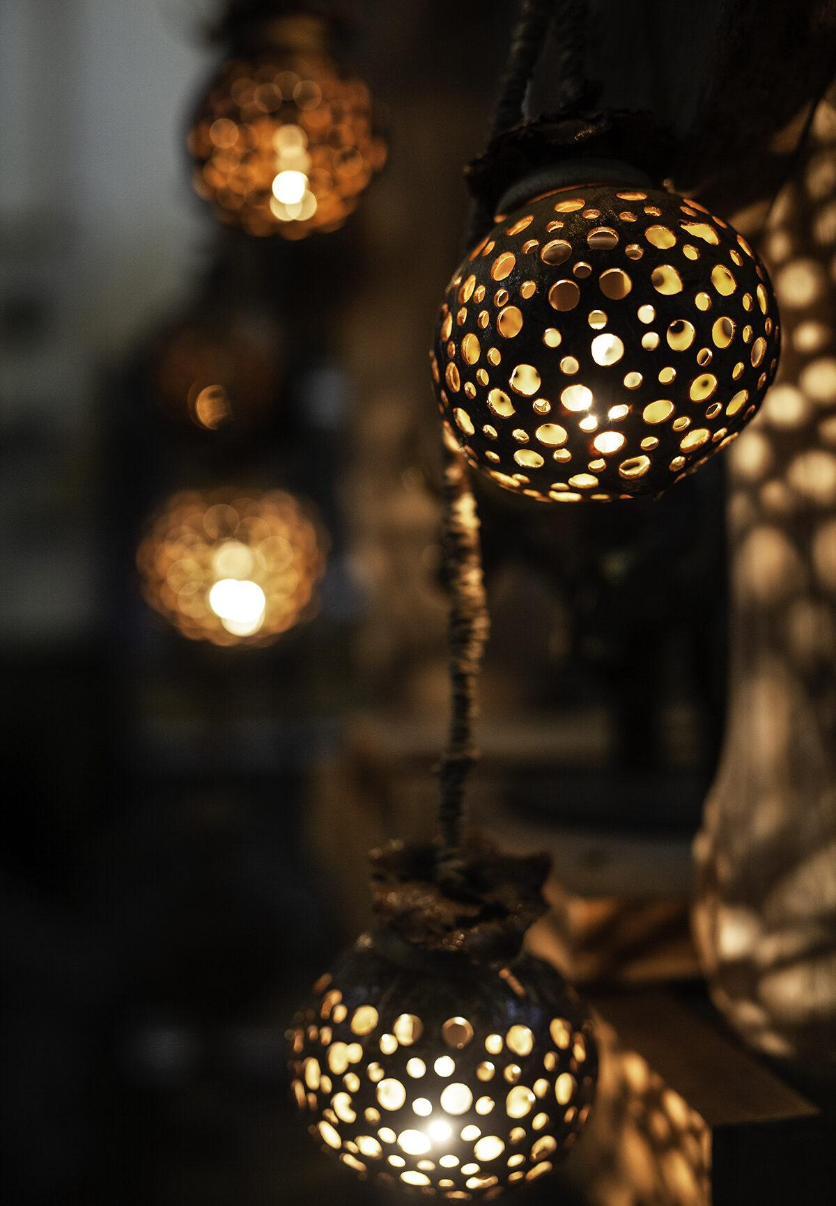 ljusbollar