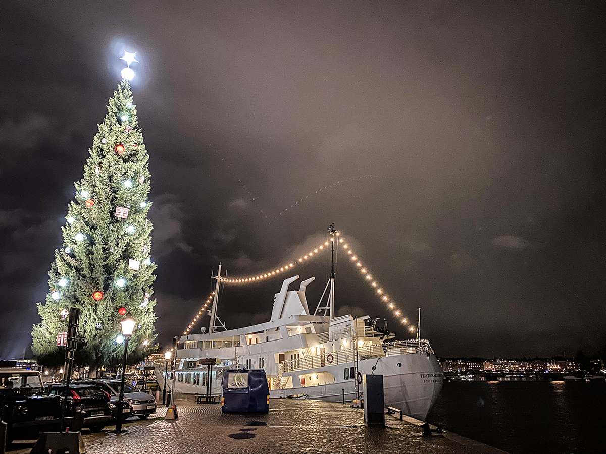 stockholm december gamla stan
