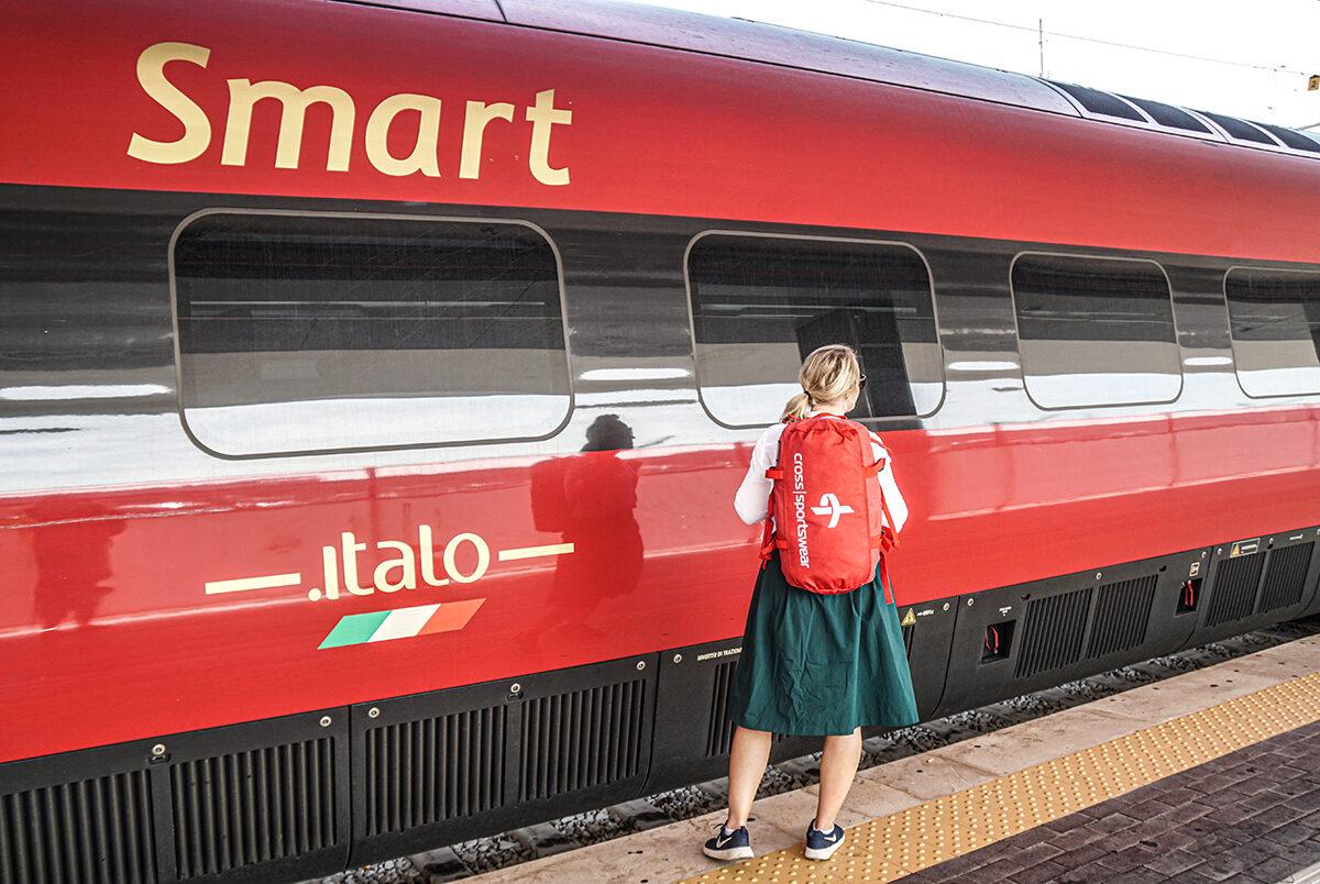 tåg i italien