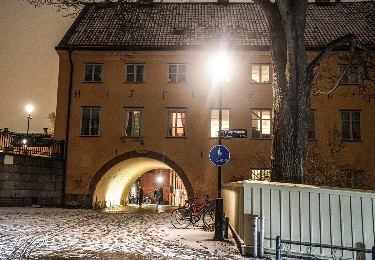 uppsala by night