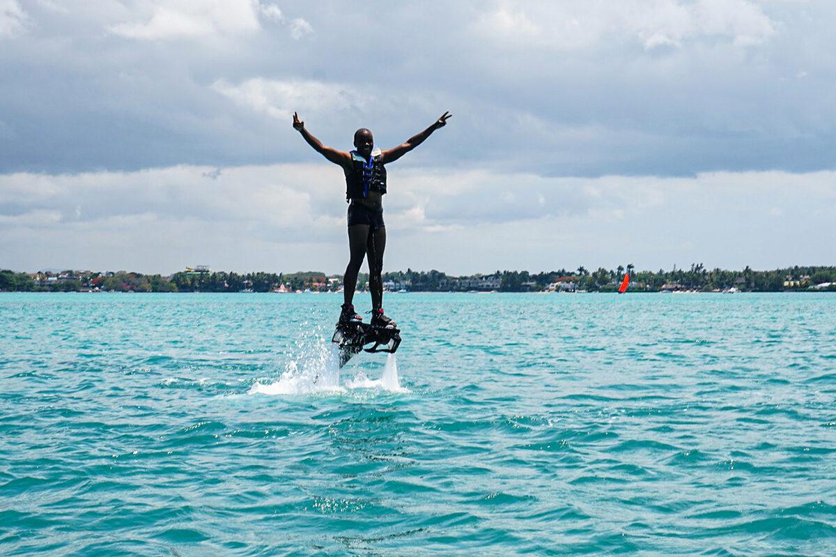 flyboarding Mauritius
