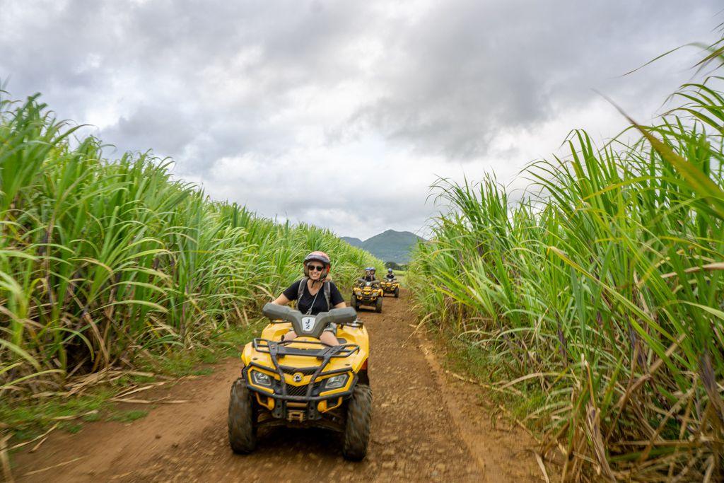 fyrhjuling Mauritius