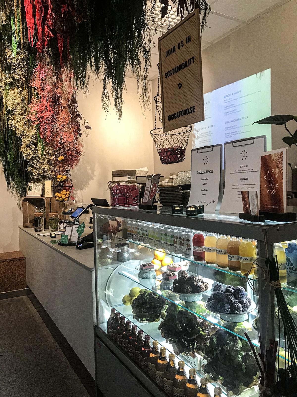 gigafood vegansk restaurang i Stockholm