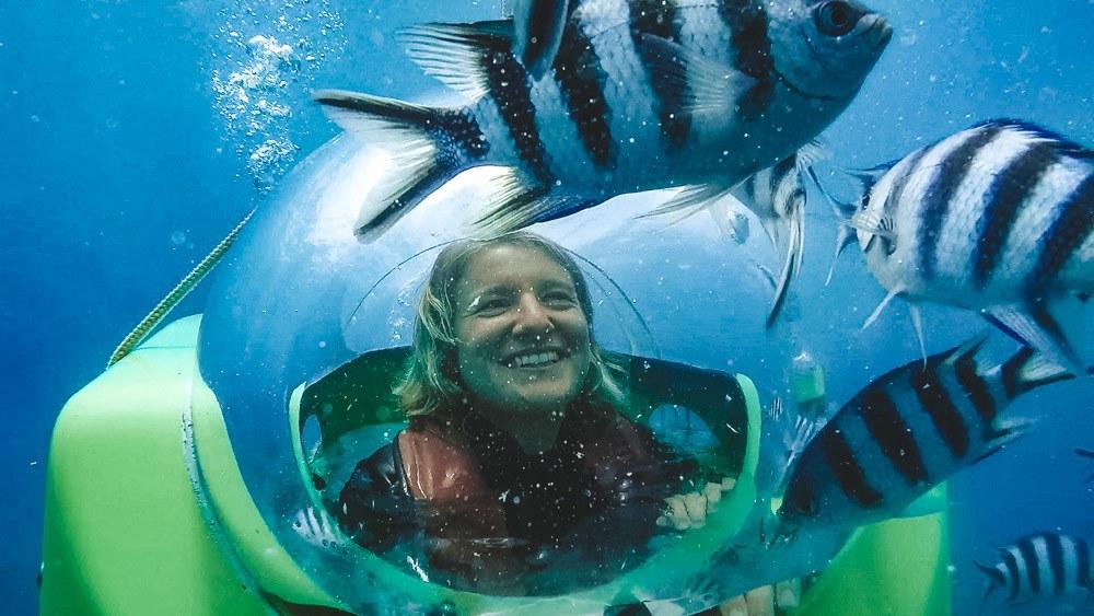 underwater scooter Mauritius