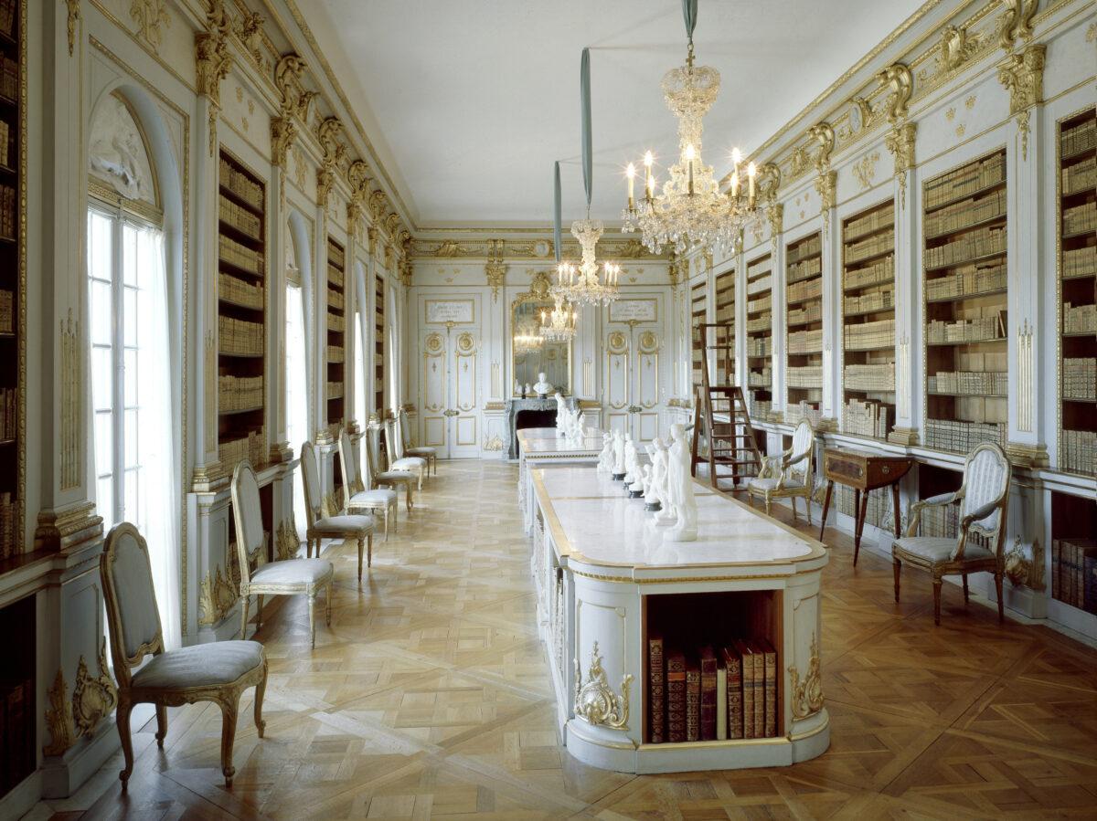 Drottningholms slott. Biblioteket.