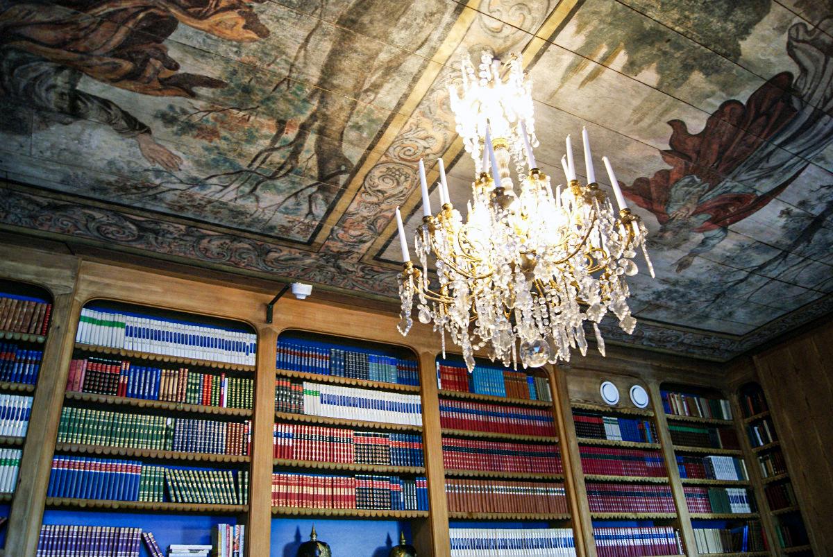 häringe slott bibliotek
