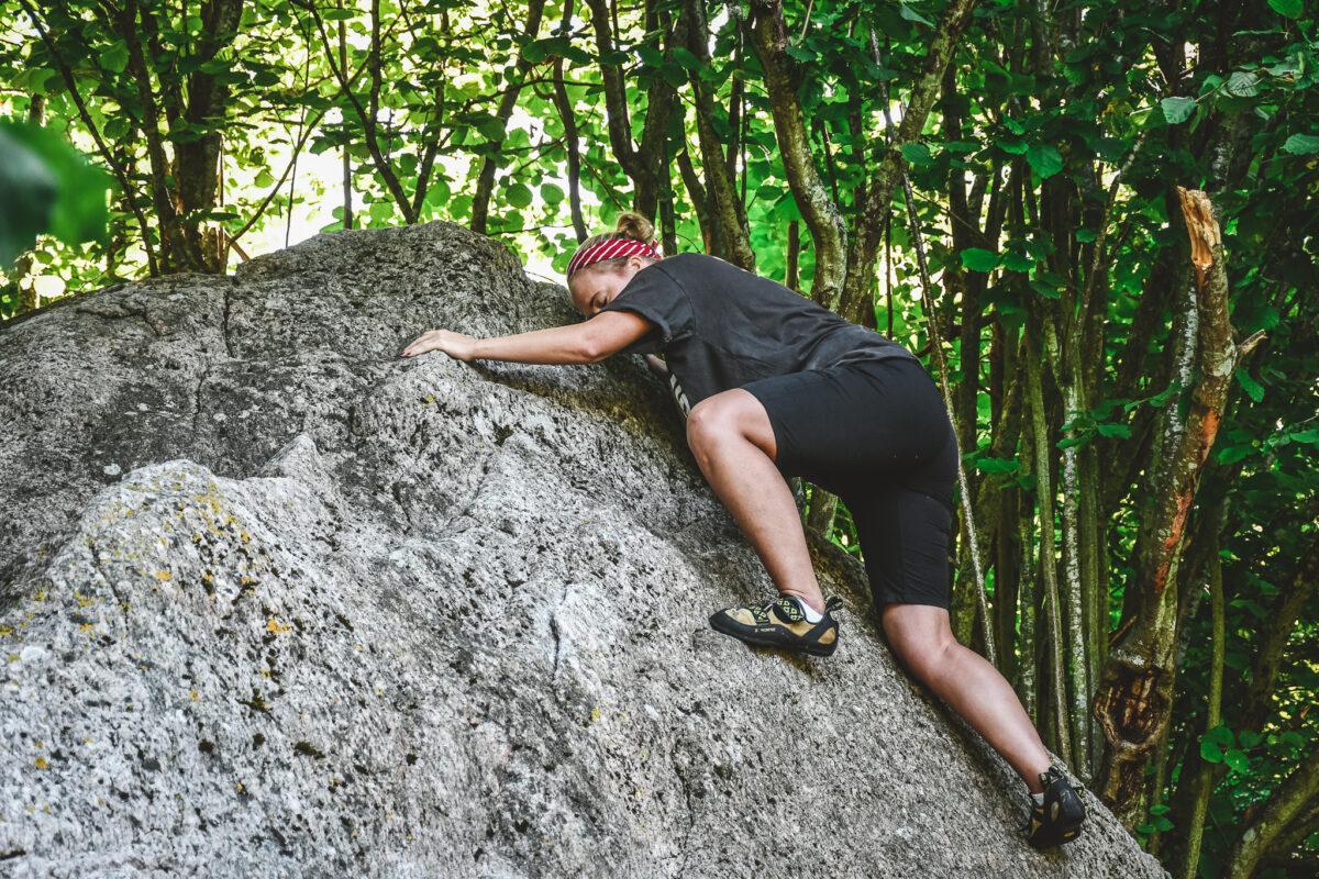 bouldering kjugekull