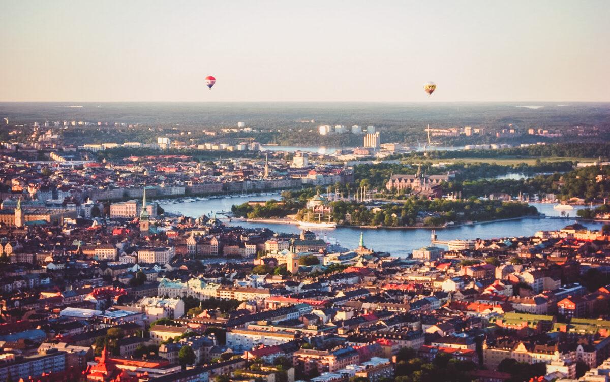 Stockholm från luften
