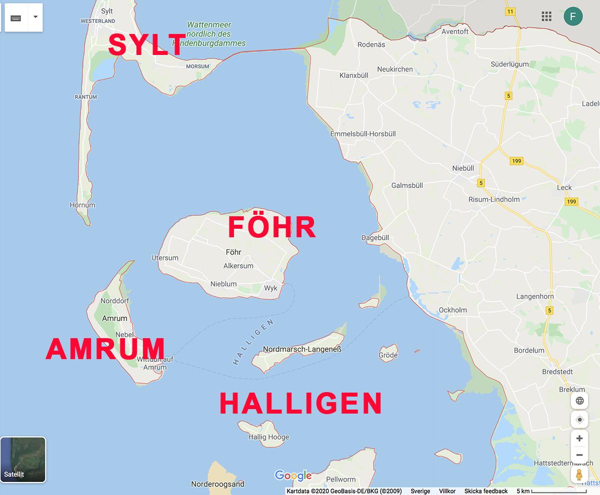 öarna schleswig holstein