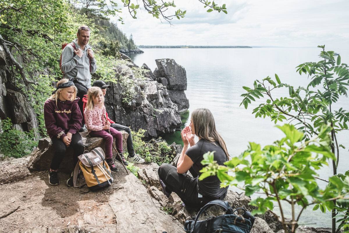 resa i Östergötland Omberg