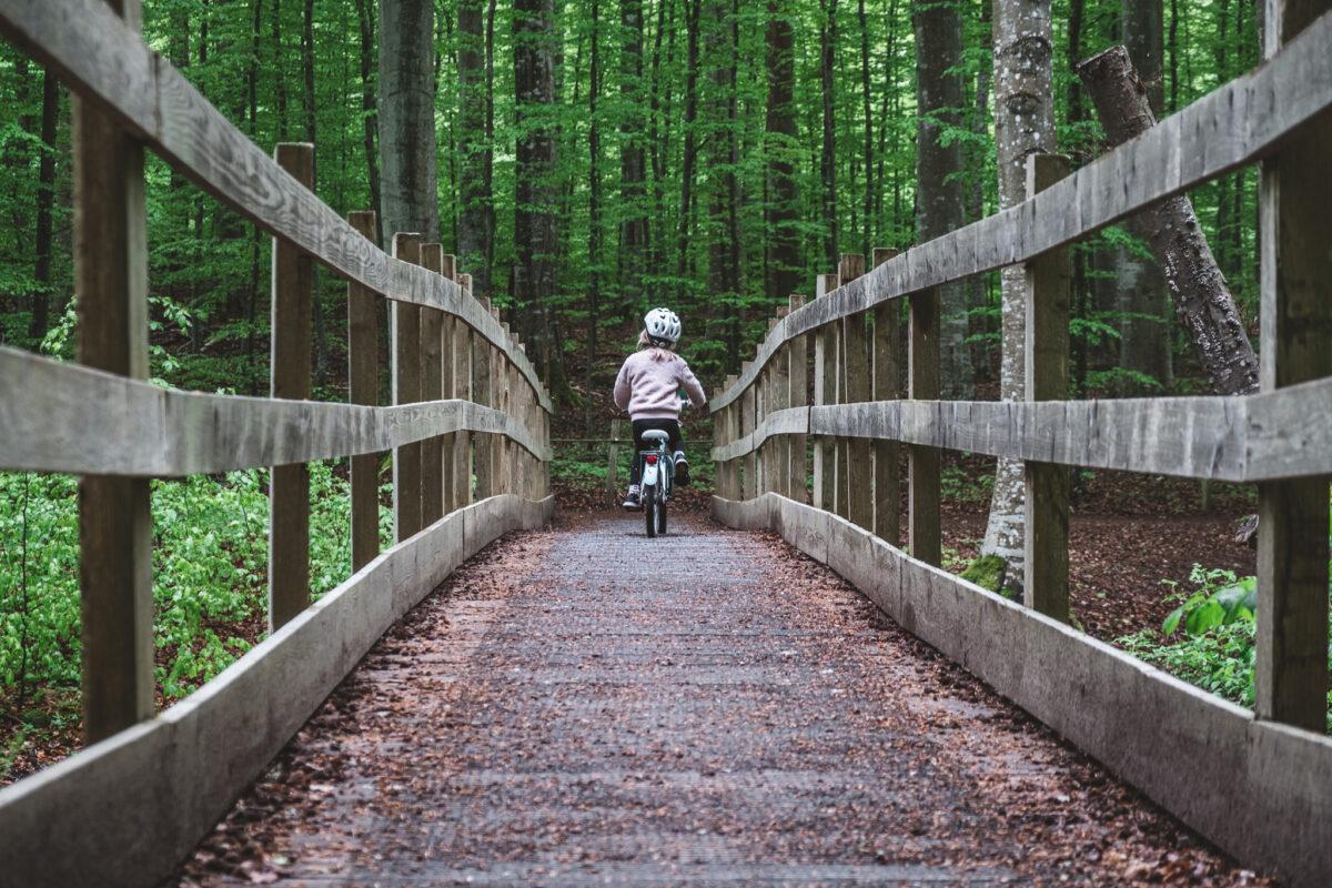 omberg cykla med barn