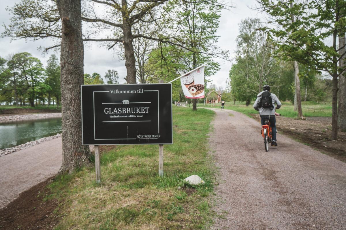 boendetips Göta kanal glasbruket