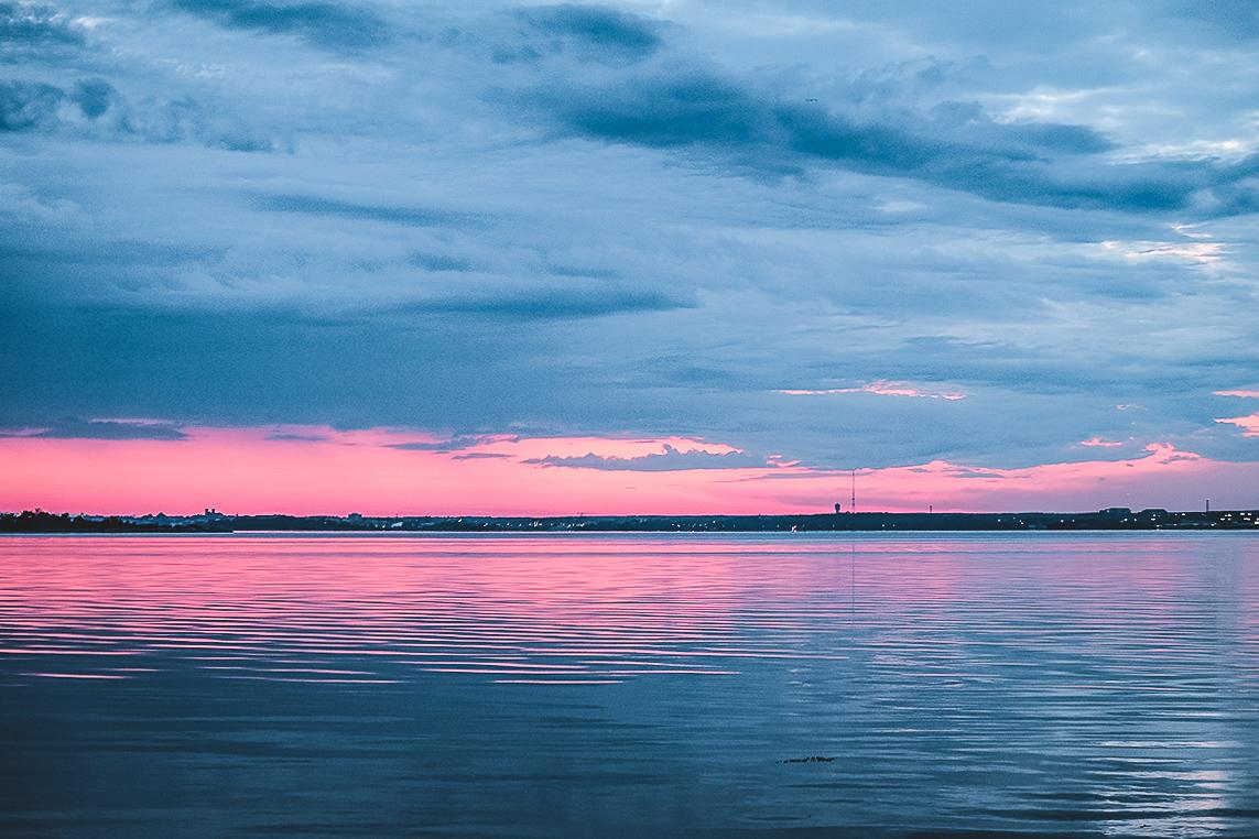 solnedgång-sturkö Blekinge skärgård