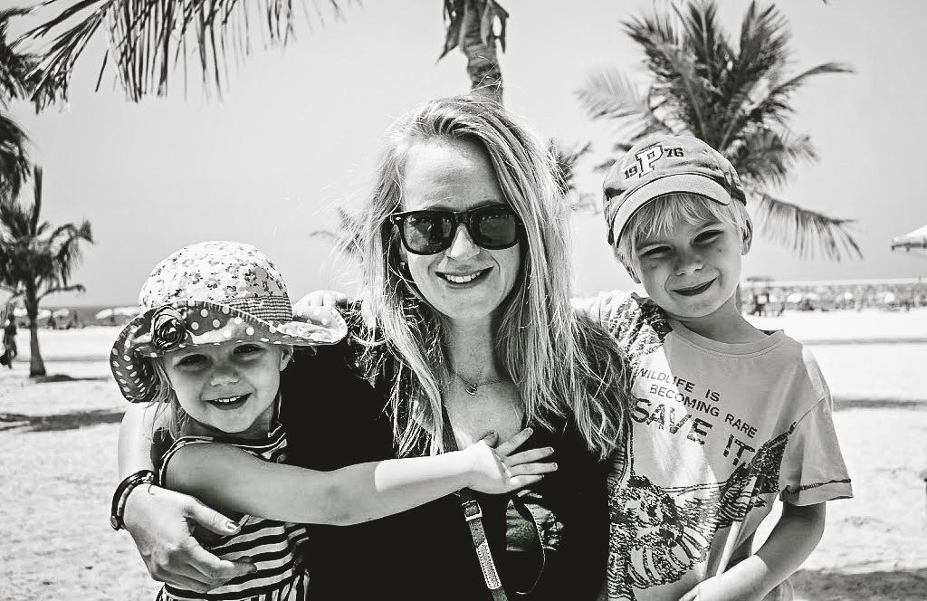Dubai med barn