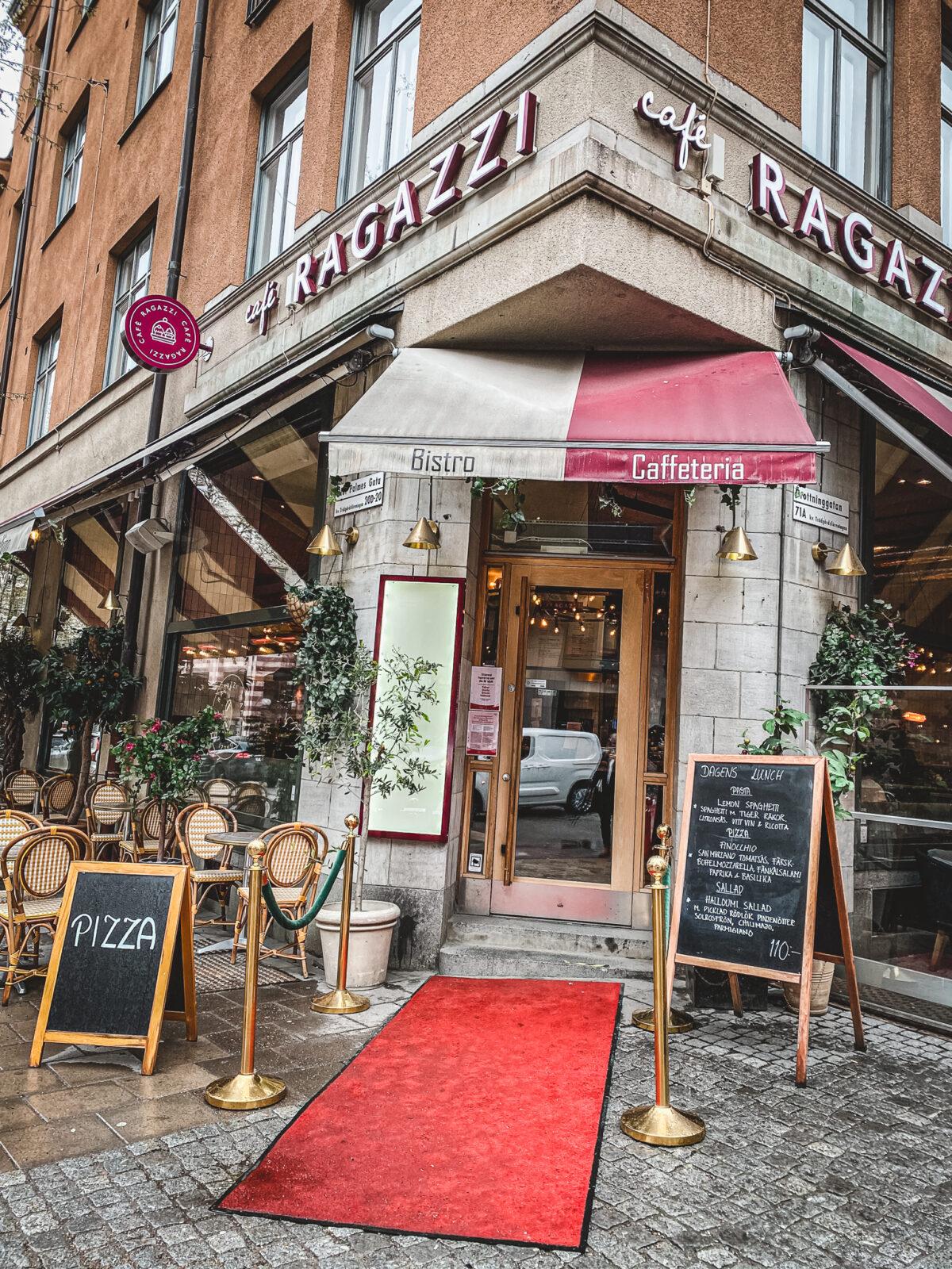 italienskt cafe Stockholm