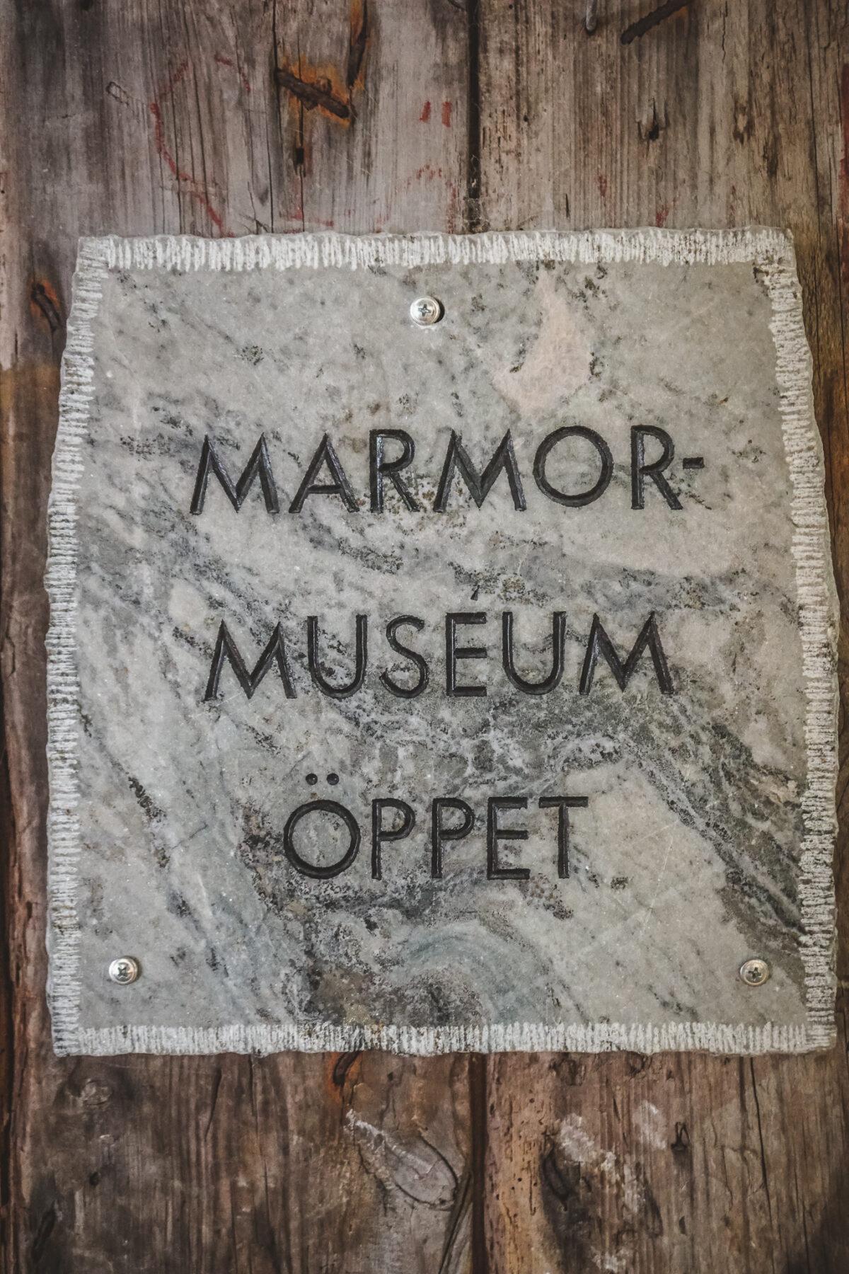 marmorbruket vandra museum