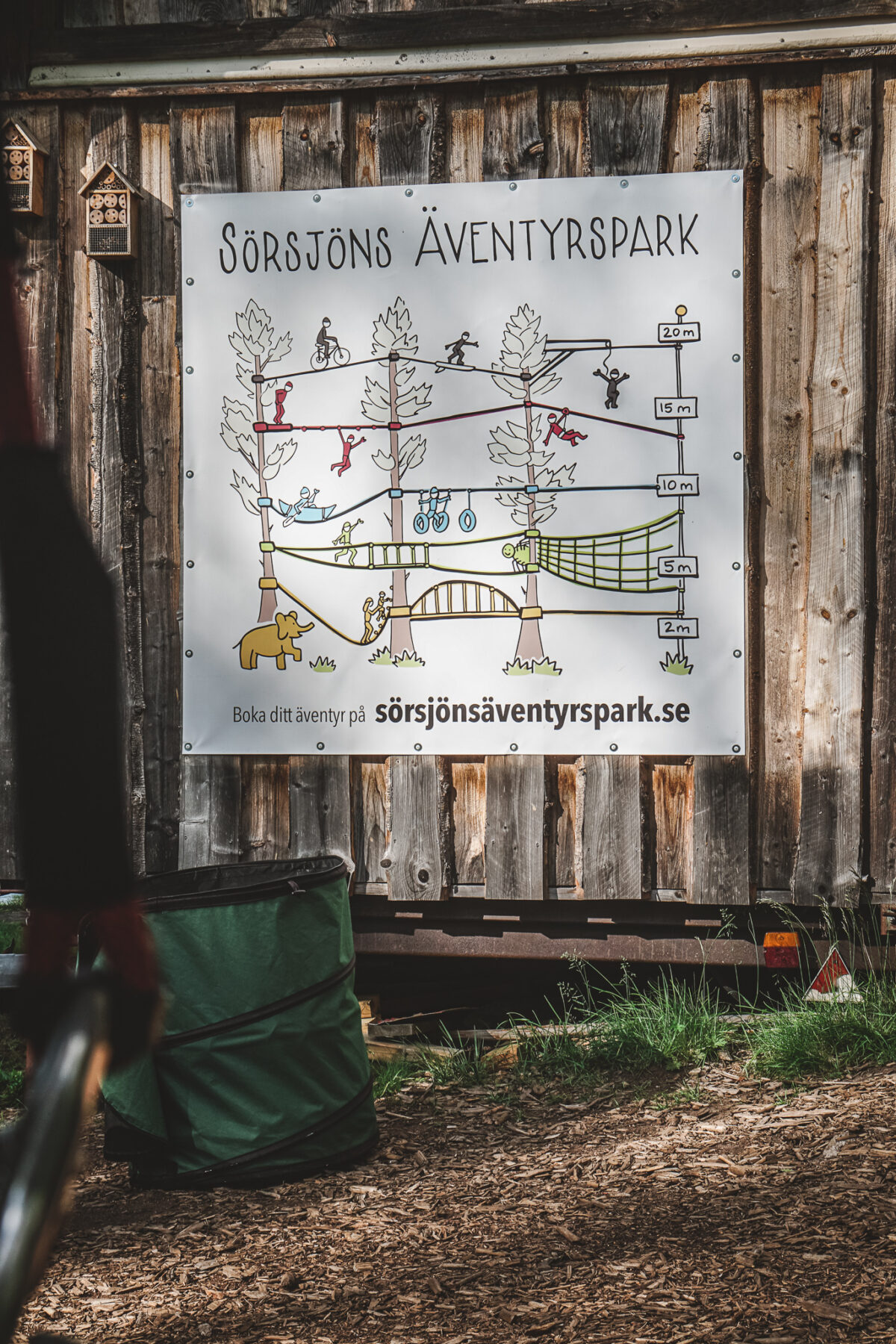 sörsjöns äventyrspark