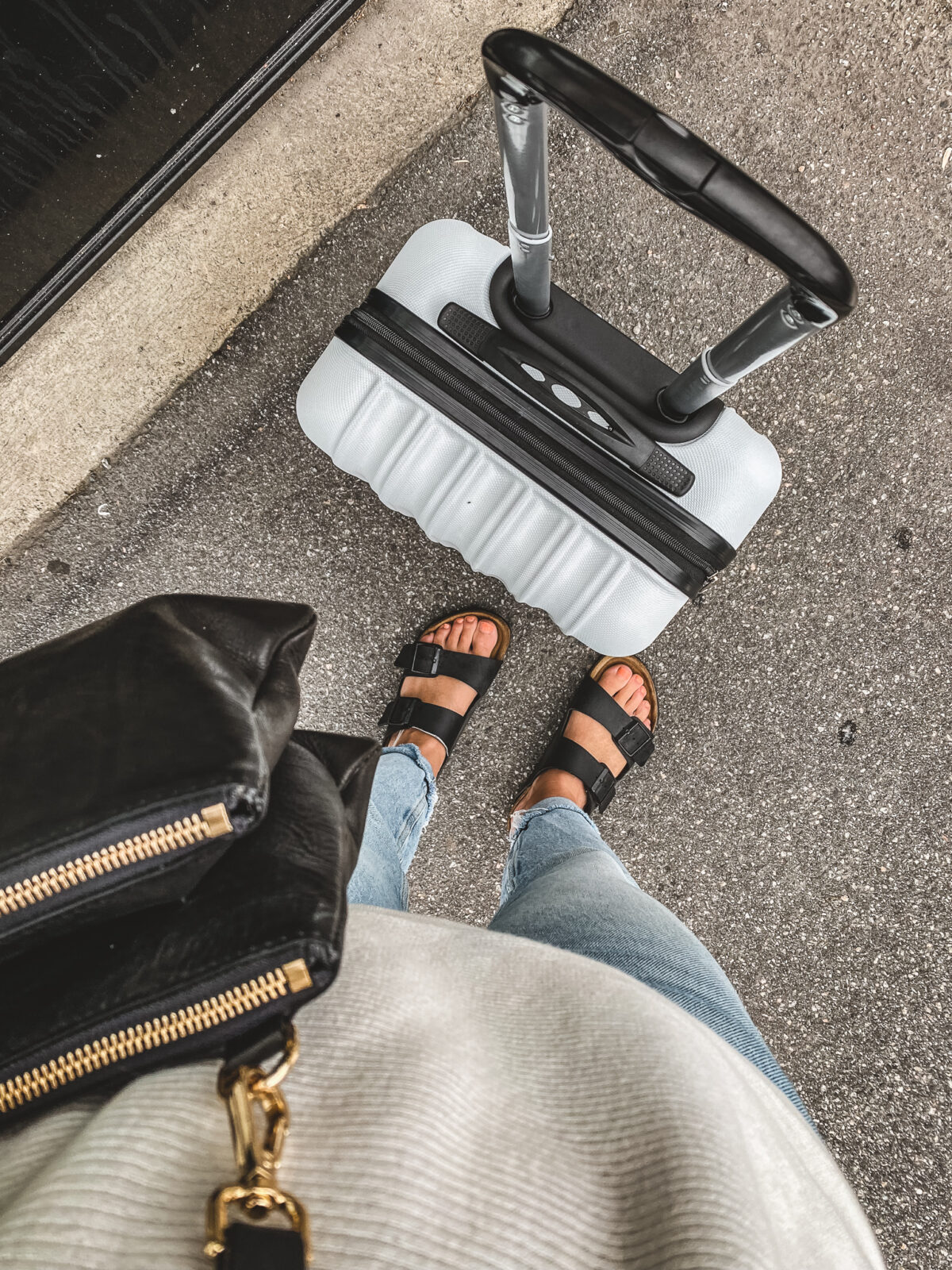 resa med tåg resväska
